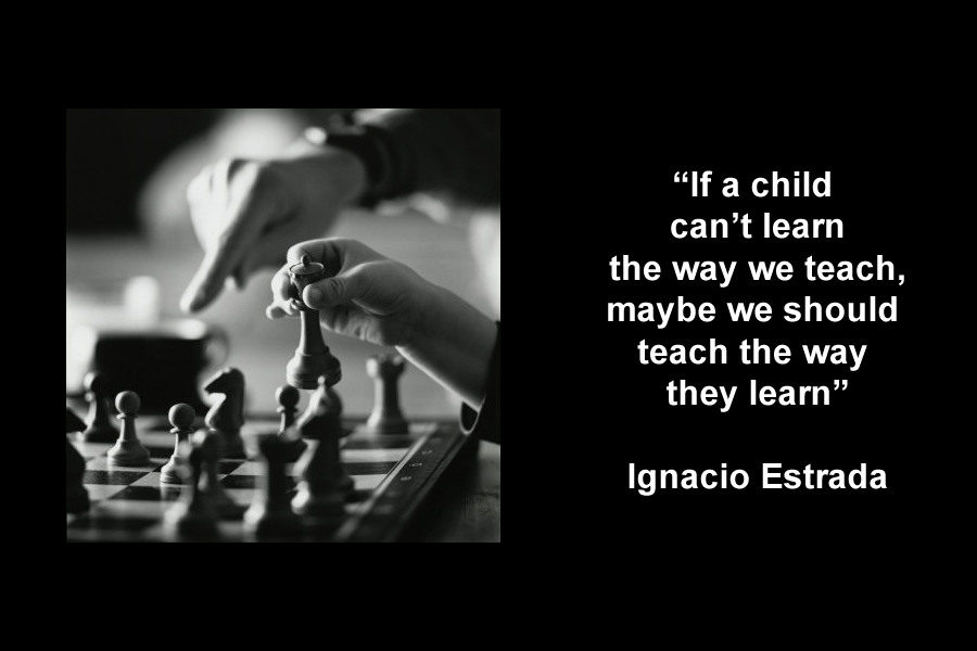 Ignacio Estrada | If a child can't learn the way we teach, maybe we should teach the way they learn
